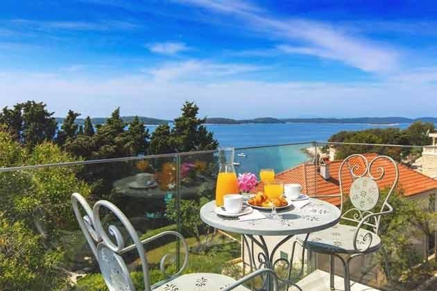Appartment Insel Hvar mit nahegelegener Tennisanlage