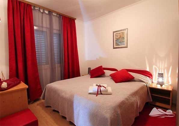 Ferienwohnung Schlafzimmer 1 - Objekt 2001-46 Bild 2