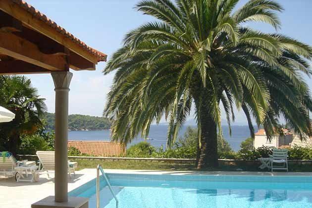 Ferienwohnung Insel Lopud mit Garten