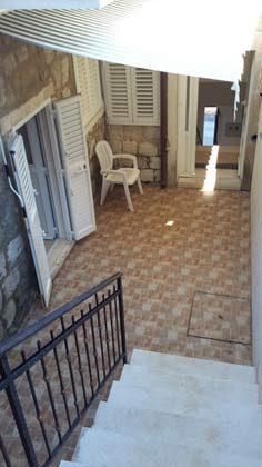Terrasse vor dem Doppelzimmer - Ref. 2001-77