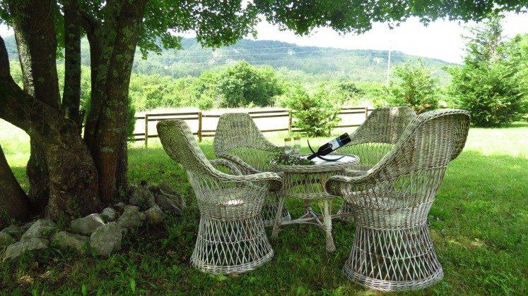lauschiger Sitzplatz im Garten - Objekt 160284-161