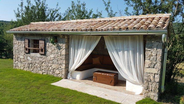 Lounge im Gartenhaus - Bild 3 - Objekt 160284-161