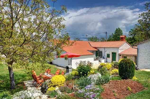 Garten und Grillterrasse - Objekt 160284-103