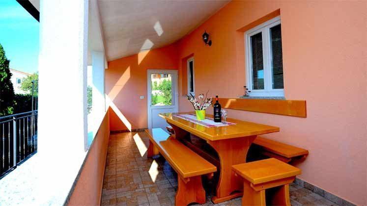überdachte Terrasse direkt am Haus - Objekt 160284-144