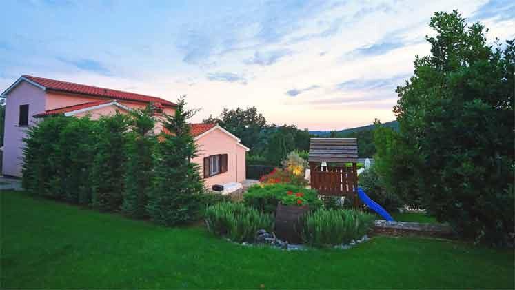 Blick auf das Ferienhaus - Objekt 160284-144