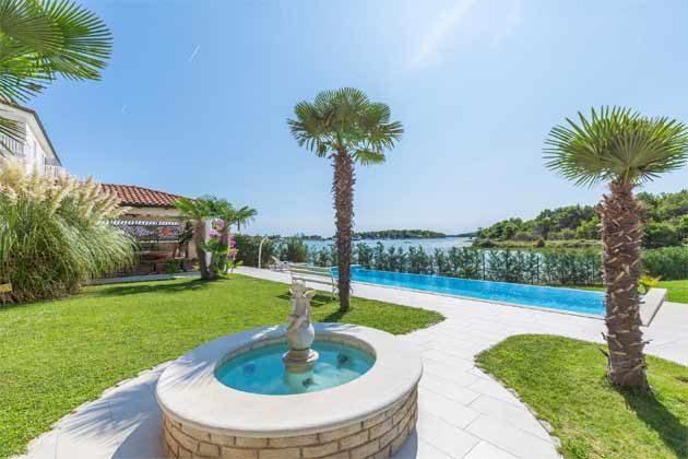 Gartenanlage und Pool - Objekt 160284-204