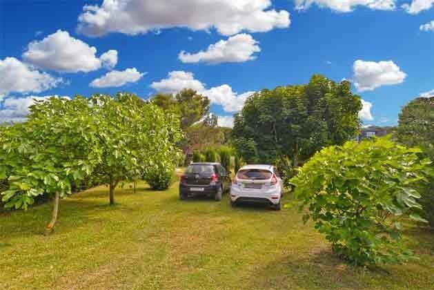 Parkmöglichkeiten im Garten - Objekt 160284-237