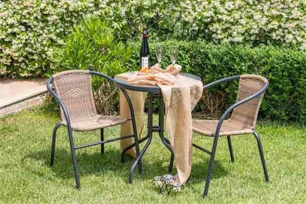 kleiner Sitzplatz im Garten - Objekt 160284-242