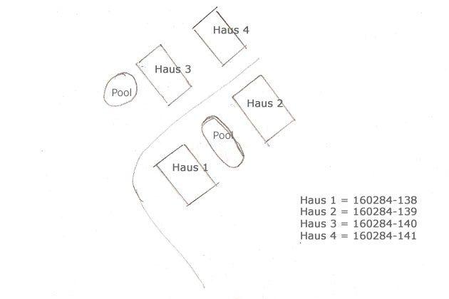 Lageplan - Haus 1 links unten - Objekt 160284-138