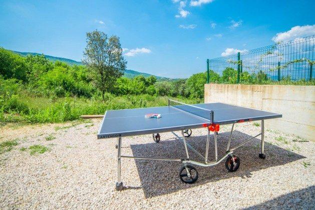 Tischtennisplatte im Garten - Objekt 138493-23