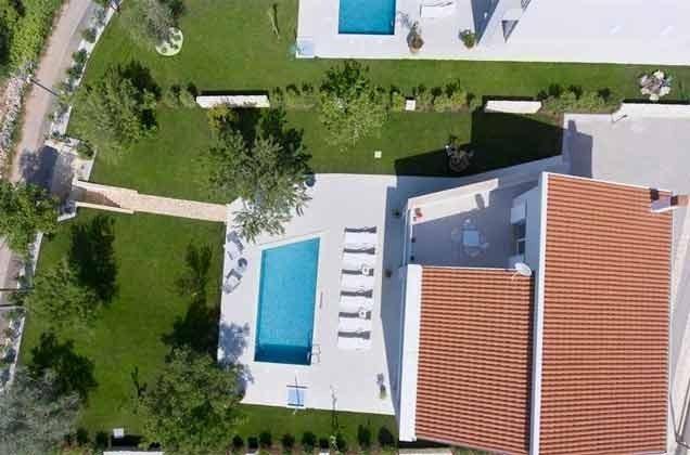 Luftaufnahme der Villa - Objekt 138493-24