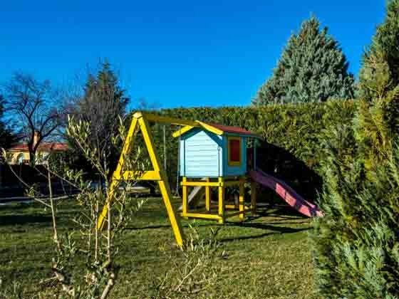 Kinderspielplatz im Garten - Objekt 160284-229