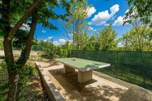 Tischtennisplatte im Garten - Objekt 215611-1