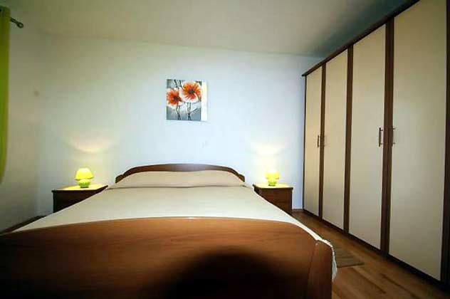 Ferienwohnung Porec Schlafzimmer