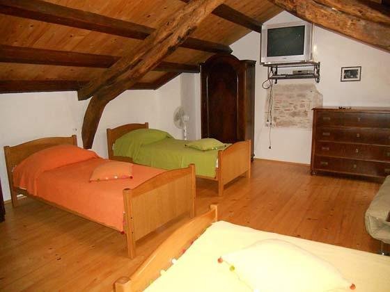 3-Bett Dachzimmer