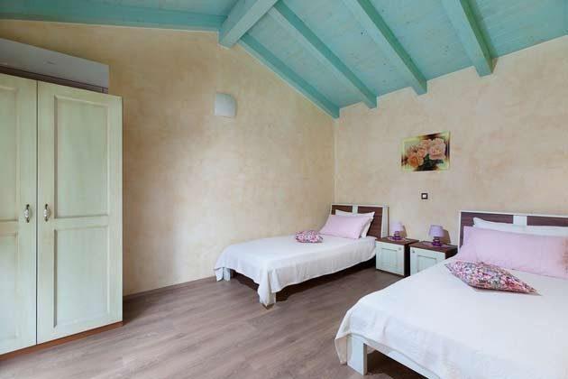 Schlafzimmer im kleinen Nebenhaus