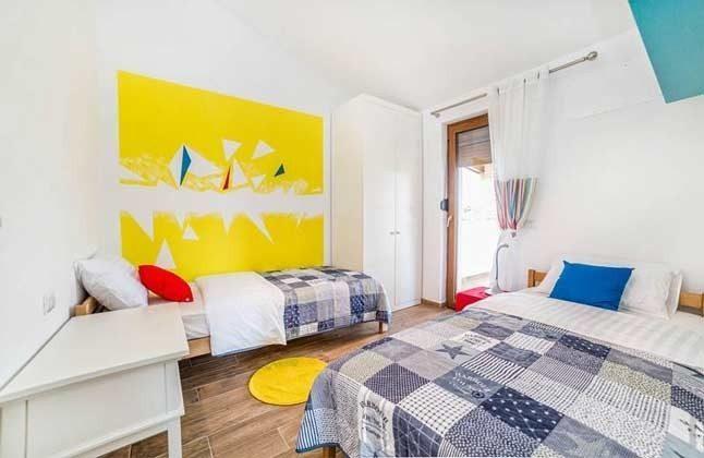 Schlafzimmer mit 2 Einzelbetten - Objekt 138493-21