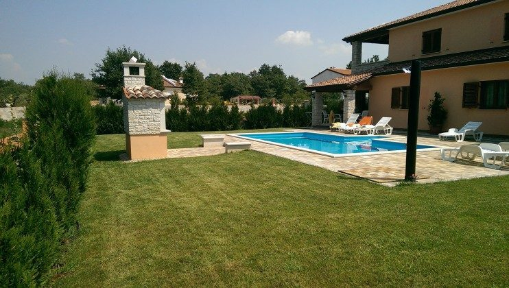 Kroatien Istrien gehobenes Ferienhaus mit Schwimmbad in Porec  Ref. 153164 Bild 25