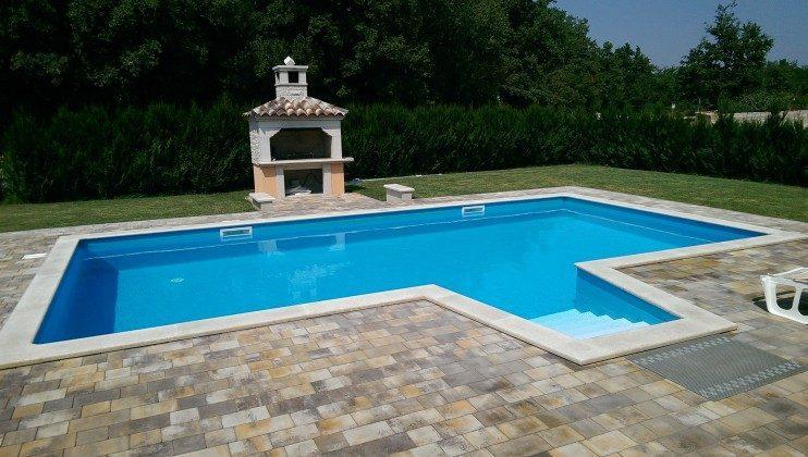 Kroatien Istrien gehobenes Ferienhaus mit Schwimmbad in Porec  Ref. 153164 Bild 1