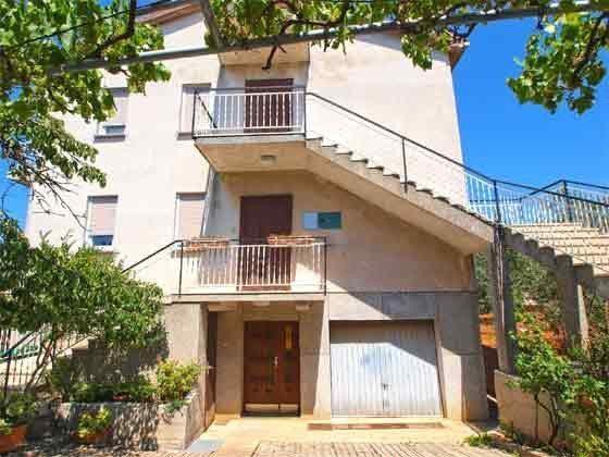 Eingang zur Ferienwohnung 1 Etage - Objekt 160284-150