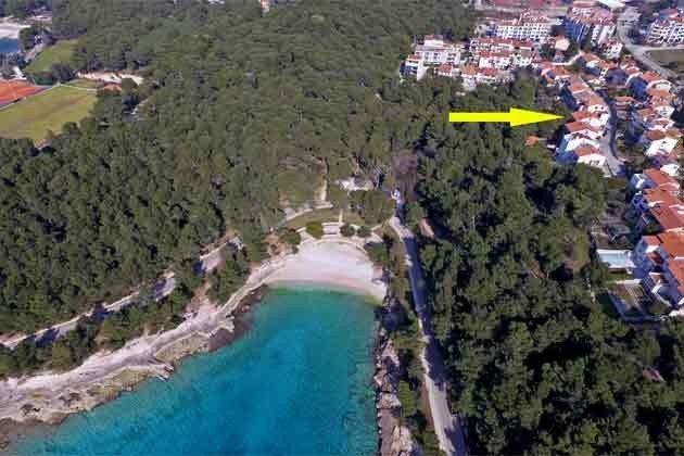 Ferienwohnung Istrien mit Badeurlaub-Möglichkeit