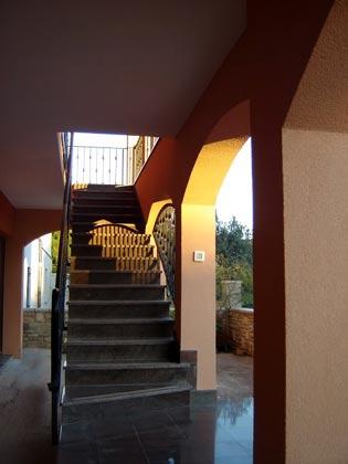 Außentreppe zu den Apartments