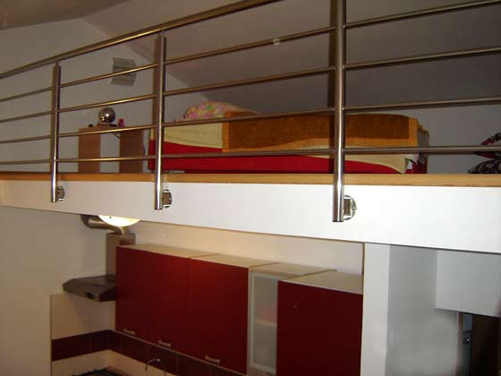A1 Küchenzeile und Galerie - Objekt 150181-1