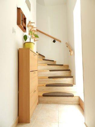 Treppenaufgang zur 1. Etage