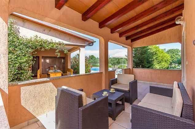 Terrasse vor dem Haus - Objekt 160284-121