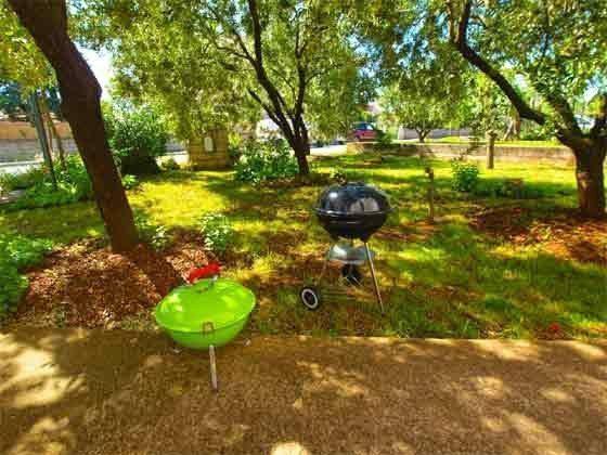 grillplatz im Garten - Objekt 160284-151