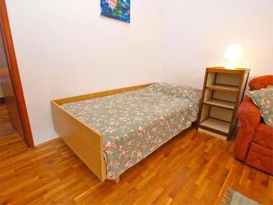 Einzelbett im Wohnzimmer - Objekt 160284-152