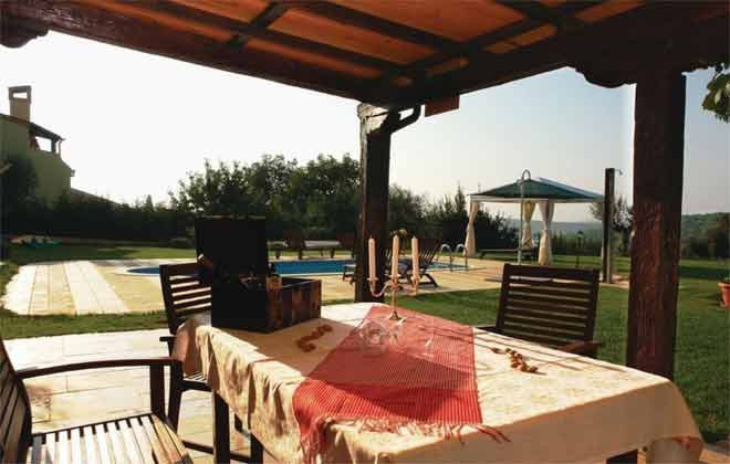 überdachte große Terrasse mit Grill - Bild 1 - Objekt 160284-191