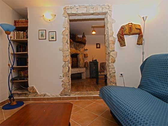FW2 Wohnzimmer mit Schlafcouch - Objekt. 160284-209