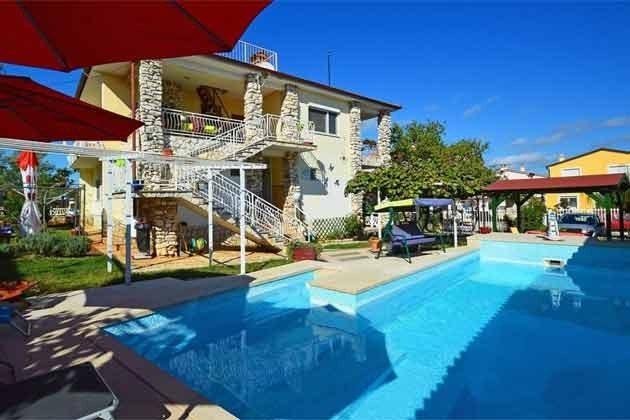 Apartmenthaus und Pool - Objekt 160284-228