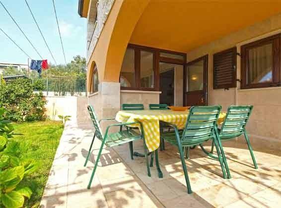Terrasse ivor der Küche - Objekt 160284-233