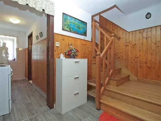 Treppe ins Obergeschoss - Objekt 160284-246