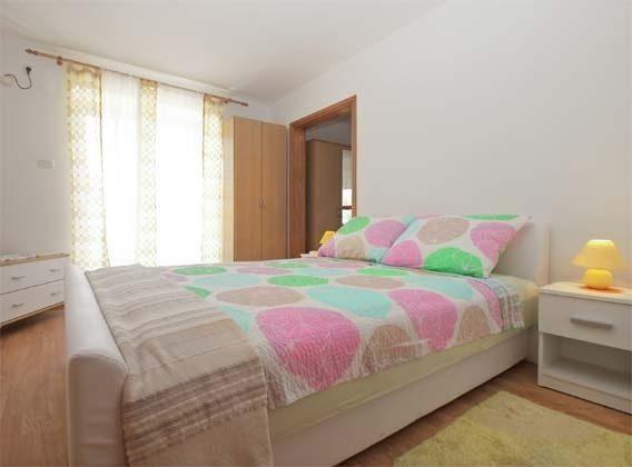 Schlafzimmer mit Doppelbett - Bild 1 - Objekt 246