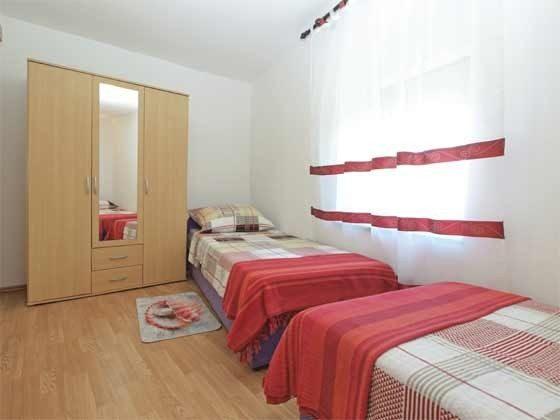 Schlafzimmer mit 2 Einzelbetten - Bild 2 - Objekt 246