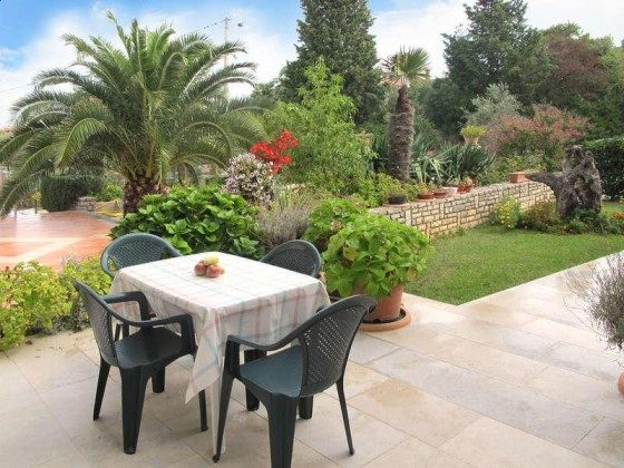 Terrasse im Garten - Objekt 160284-294