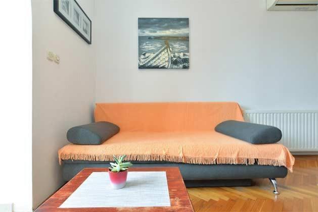 A1 Schlafcouch in der Wohnküche - Objekt 160284-2