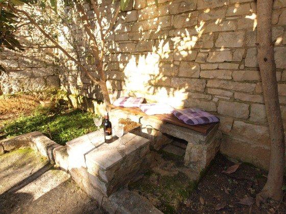 kleiner Sitzplatz im Garten - Objekt 160284-326