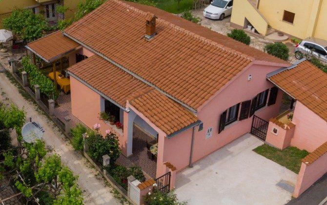 Luftaufnahme vom Ferienhaus - Objekt 160284-332