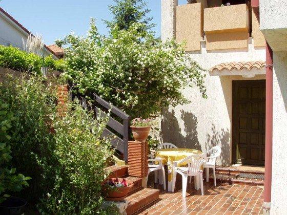 Terrasse der Ferienwohnung - Objekt 160284-364