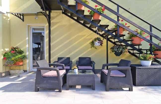 weitere Sitzterrasse am Haus - Objekt 160284-71