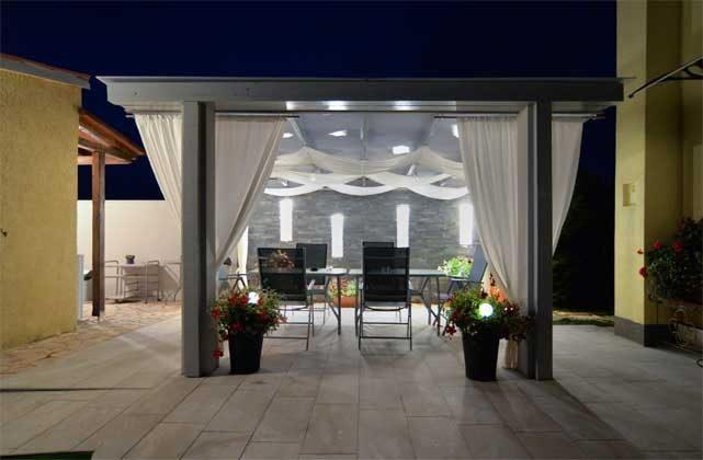 Abendbeleuchtung Terrasse  - Bild 1 - Objekt 160284-71