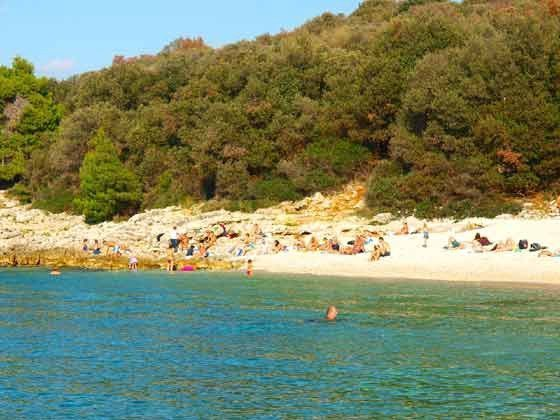 Strand Ambrela bei Pula