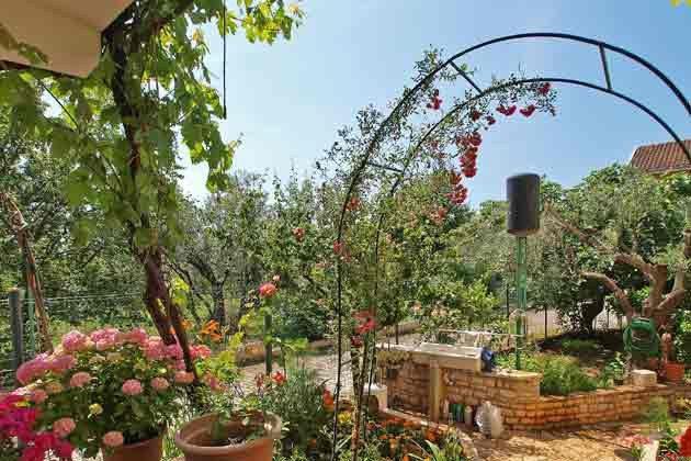 Ferienwohnung Istrien mit Garten