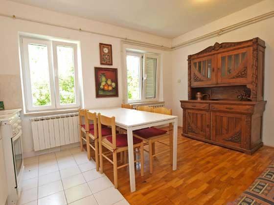 Esspaltz in der Wohnküche