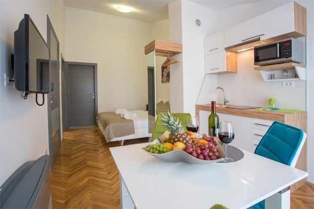 Studio Küchenbereich Beispiel
