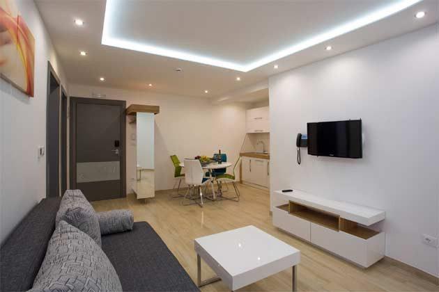 Apartment 2+2 Küchenbereich Beispiel